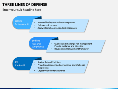 Three Lines of Defense PPT Slide 5