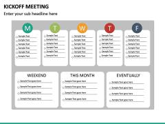 Kickoff Meeting PPT slide 17