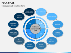 PDCA Cycle PPT Slide 5