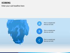 Iceberg PPT slide 4