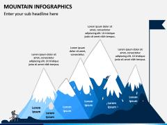 Mountain Infographics PPT Slide 5