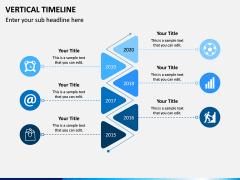 Vertical Timeline PPT Slide 4