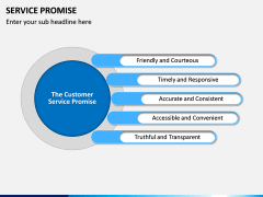 Service Promise PPT slide 9