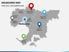 Melbourne Map PPT Slide 4