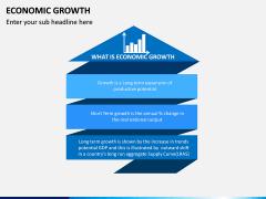 Economic Growth PPT Slide 1