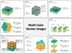 3D cube PPT slide MC Combined