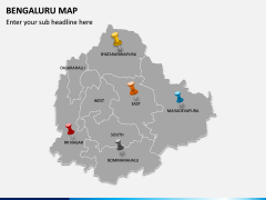 Bengaluru Map PPT Slide 4