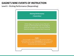 Gagne's Nine Events of Instruction PPT Slide 27