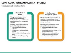 Configuration Management System PPT Slide 27