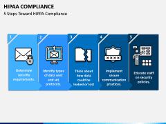 HIPAA Compliance PPT slide 1
