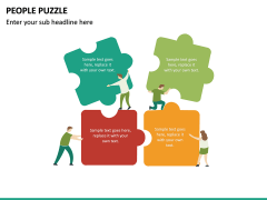 People Puzzle PPT Slide 19
