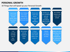 Personal Growth PPT Slide 17