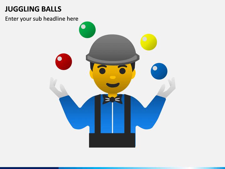 Juggling Balls PPT Slide 1