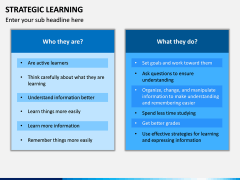 Strategic Learning PPT Slide 11