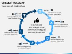 Circular Roadmap PPT Slide 13