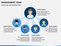 Management Team PPT Slide 1