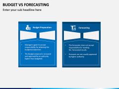 Budget Vs Forecasting PPT Slide 1
