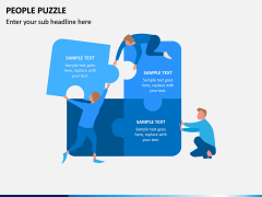 People Puzzle PPT Slide 5