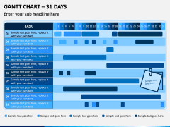 Gantt Chart PPT Slide 8