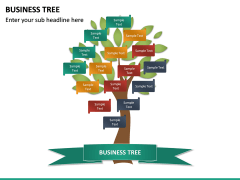 Business Tree PPT Slide 14