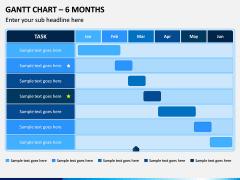 Gantt Chart PPT Slide 1