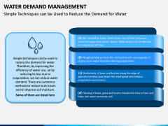Water Demand Management PPT Slide 4