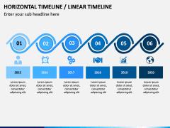 Horizontal Timeline PPT Slide 3