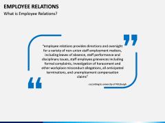 Employee Relations PPT Slide 2