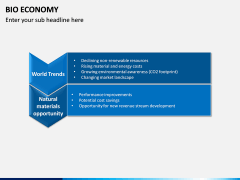 Bio Economy PPT Slide 6