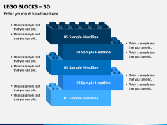 Lego blocks PPT slide 1