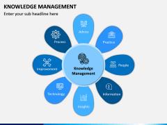 Knowledge Management PPT Slide 1