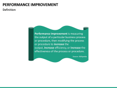 Performance Improvement PPT Slide 16