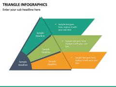 Triangle Infographics PPT Slide 25