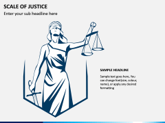 Scale of Justice PPT Slide 2