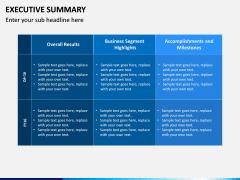 Executive Summary PPT Slide 13