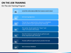 On the Job Training PPT Slide 4