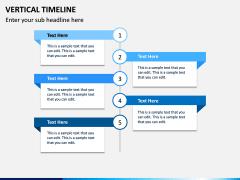 Vertical Timeline PPT Slide 9
