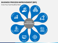 Business process improvement PPT slide 1