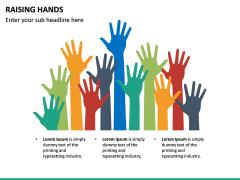 Raising Hands PPT Slide 18