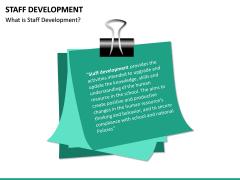 Staff Development PPT Slide 16