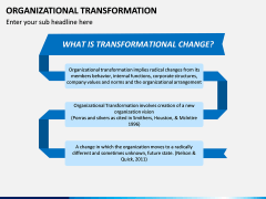 Organizational Transformation PPT Slide 2