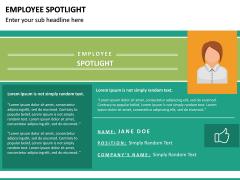 Employee Spotlight PPT Slide 28