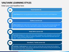 VAK Learning Styles PPT Slide 3