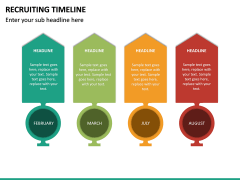 Recruiting Timeline PPT Slide 19