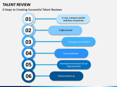 Talent Review PPT Slide 1