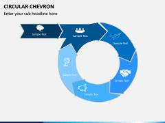 Circular Chevron PPT Slide 12