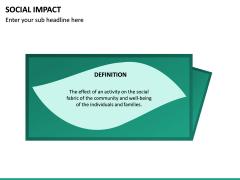 Social Impact PPT Slide 20