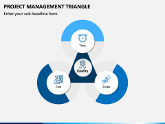 Project Management Triangle PPT Slide 3