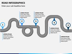 Road Infographics PPT Slide 10