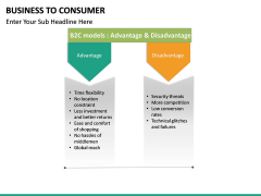 Business to Consumer PPT slide 30
